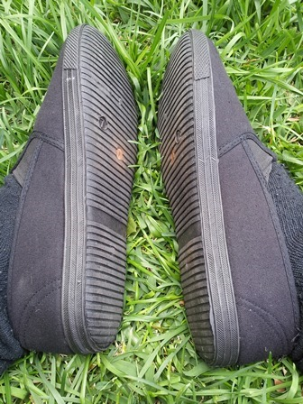 Product review shoe sync earthing shoes diy kit by earth runners my custom grounded tai chi shoes for outdoor training using the shoe sync earthing shoes diy kit now im more grounded in my training solutioingenieria Images